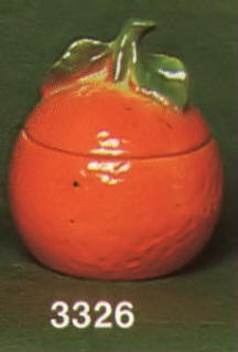 3326 Orange Marmalade Jar
