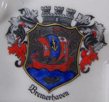 4080 sailer boy with accordian Bremerhaven  logo