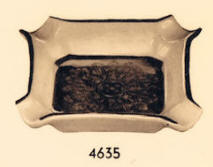 4635 square ashtray