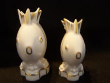 4985/6 & 4985/5 Fish toothpick holders front