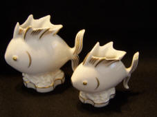 4985/6 & 4985/5 Fish toothpick holders