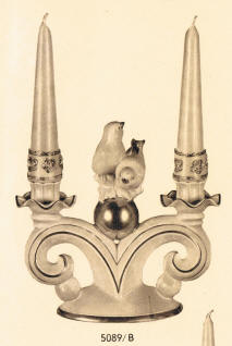 5089/B Candleholder with Birds