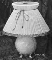 5326/eG Lamp Ball with Raised Sunflower Relief