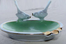 Bird pair ashtray