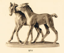 5711 Playful Horses
