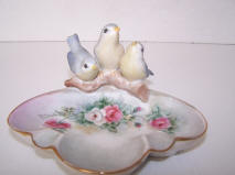 5754 ashtrays bird trio