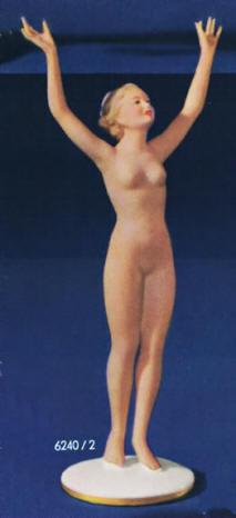 6240/2 Nude standing with arms raised