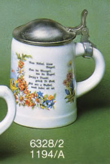 6328/2 Stein with rounded lid