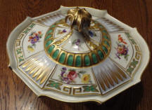 6529 Decorative Compote Lid