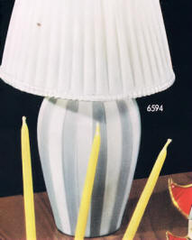 6594 Vase style table lamp