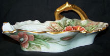 6620 hanpainted poppies dish top
