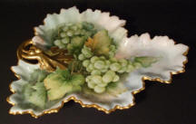6629 Grape Leaf Dish