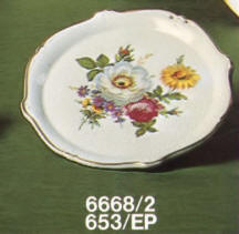6668/2-653 Decorative Wall plate
