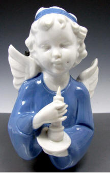 6742/B Angel Holding Candle Plaque