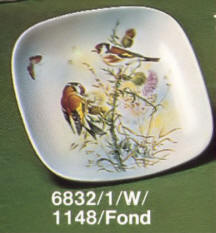6832/1/W-1148/F Decorative wall plate