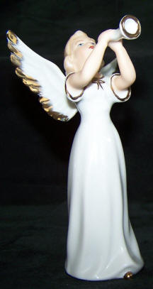 6841 angel with trumpet