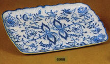 6968 Blue Onion Tray