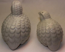 7212/1 & 7212/2 Partridge Salt & Pepper back side