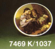 7469/K 1037 Oval Plaque