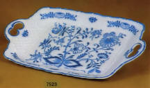 7523 Blue Onion Serving Platter