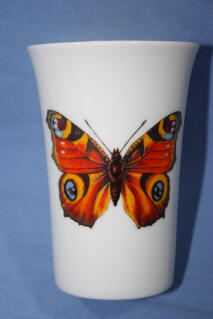 Peacock Butterfly Tumbler