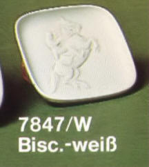 7847 Bisque Plaque