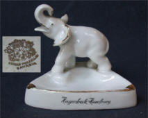 Gerold Porzellan Elephant Ashtray