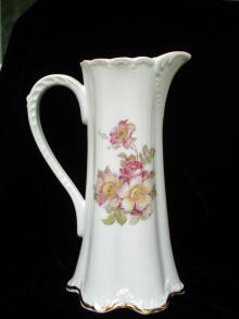 Chocolate Pitcher Back View