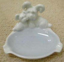 Gerold Porzellan Pair of Dogs Ashtray