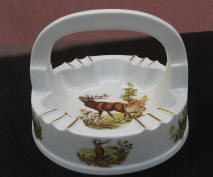 Elk Ashtray with Handle