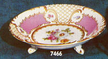7466 footed plate