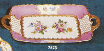 7523 Two Handled serving platter