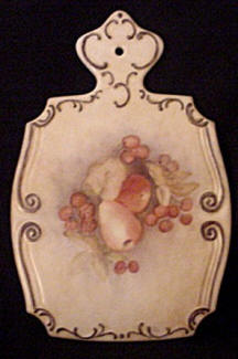 Handpainted Porcelain Cutting Board