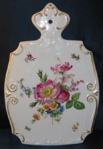 Floral Transferware Cutting Board