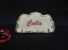 Calla dealer sign