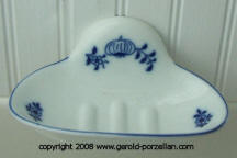Blue Onion Wall Soap Dish