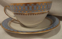Blue Pageant Cup & Saucer