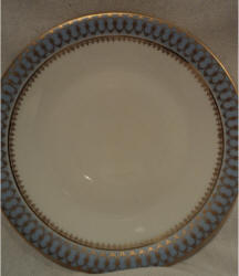 Blue Pageant Salad Plate