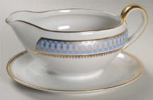 Blue Pageant Gravy Boat