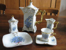 Forget-Me-Not Tea Service Set.