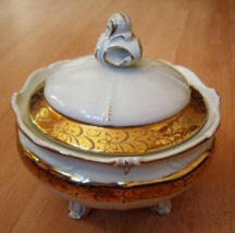 Decorative Covered LId