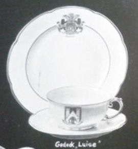 Luise Luncheon Set