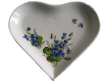Columbine Flowers Trinket Box