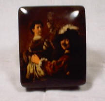 Muskateers Trinket or Cigarette Box