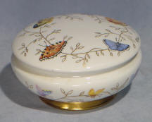 Butterfly decorated Trinket Jar