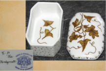 Autumn Leaves Trinket/Cigarette Box