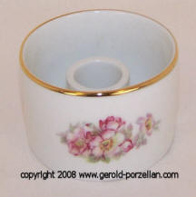 Wild Roses Single Candle Candleholder